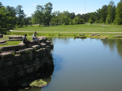 Forest Park - fishing off rocks