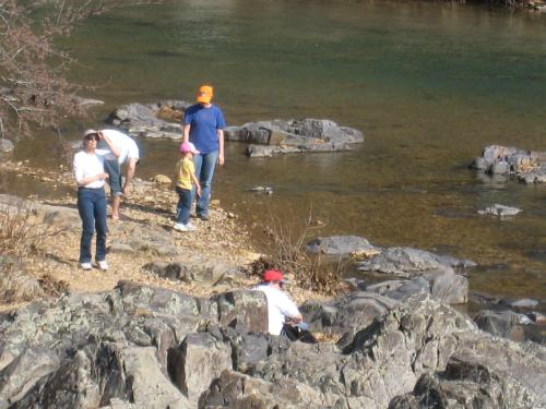Johnson's Shut-Ins - shallow river