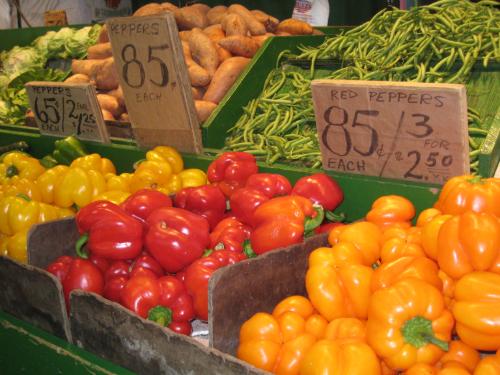 Soulard Farmers Market - produce