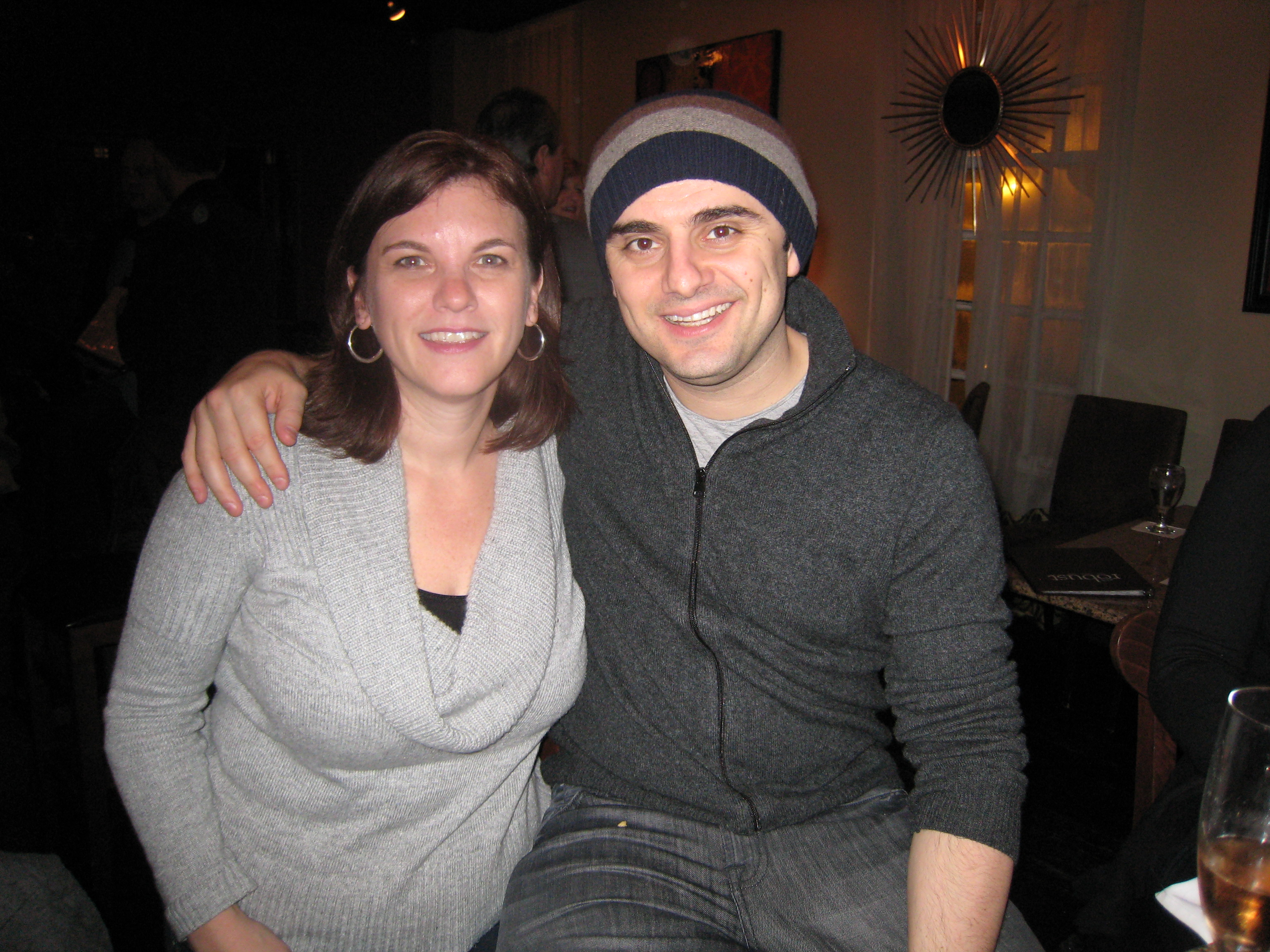 Gary Vaynerchuk with cute, Wife Karen Goodman