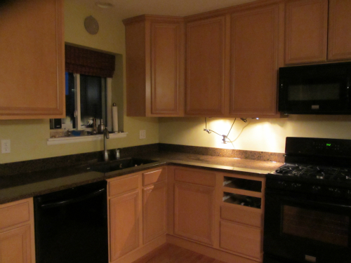 Kitchen progress report 2 - after counter and appliances (1)