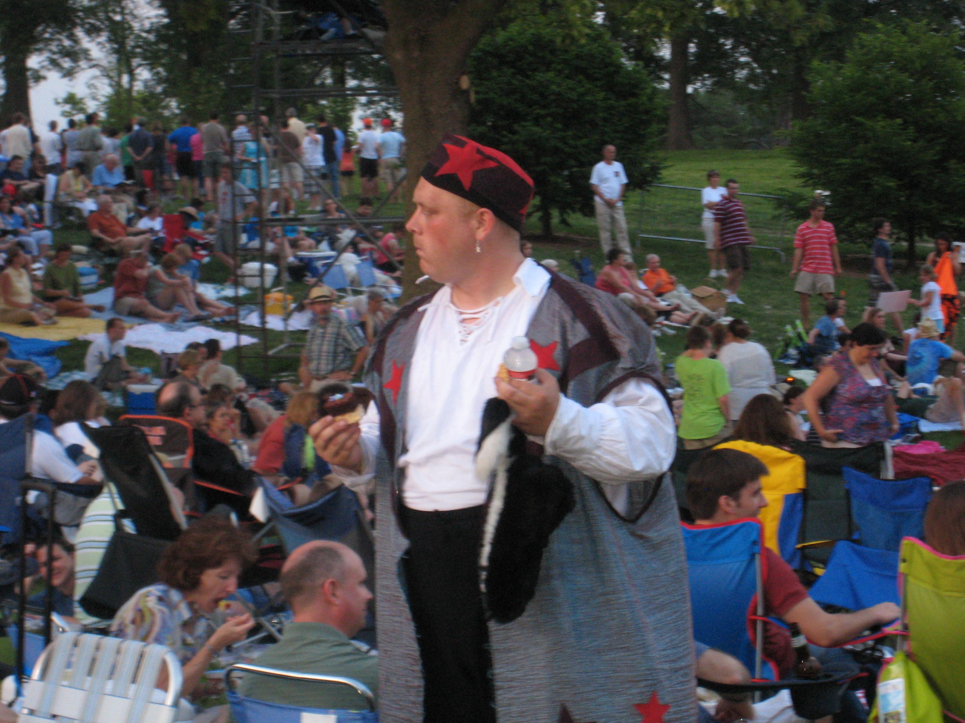 Shakespeare Festival St. Louis entertainer 2010