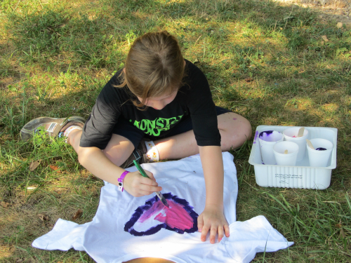 Sherwood Forest Camp - Mini Camp art project