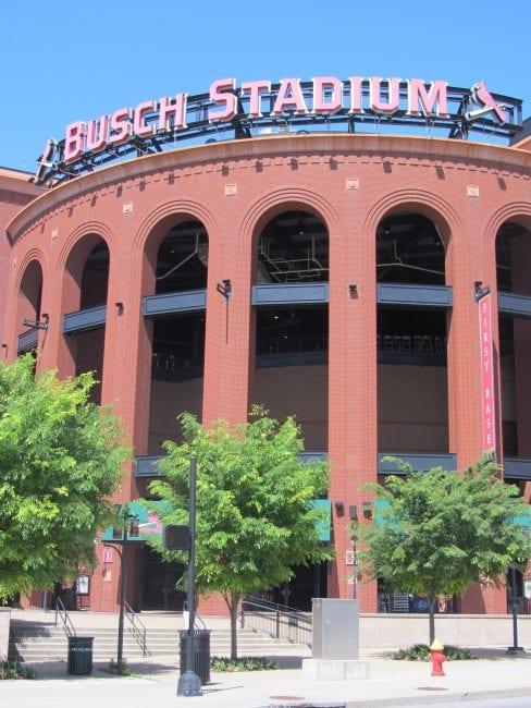 St. Louis Cardinals baseball - Busch Stadium