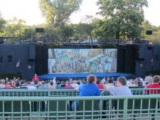 Free section at Muny Theater Forest Park St. Louis MO