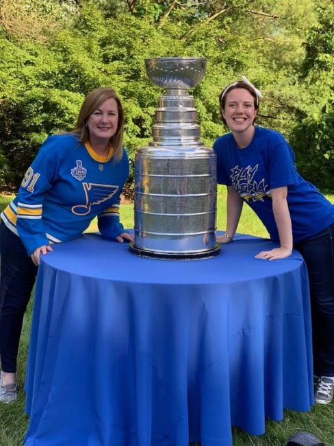 Stanley Cup - St. Louis Blues hockey