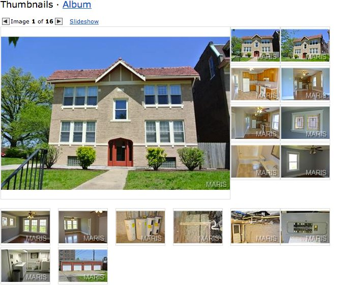 St. Louis real estate search - pictures