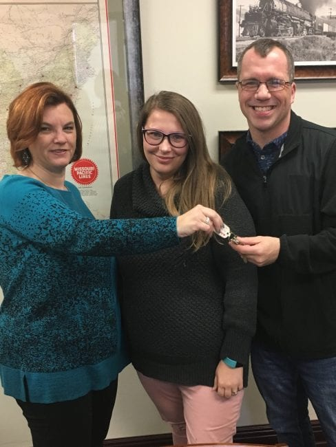St. Louis home buyers get keys to their new home