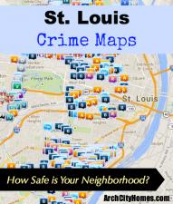 St. Louis Crime Maps - Arch City Homes