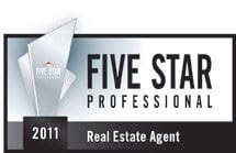Horizontal RE2011 LO St. Louis Magazine ~ FIVE STAR Real Estate Award Winners