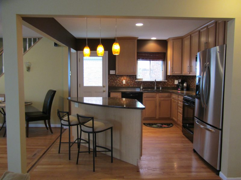 Kitchen Remodel - After Pictures | Arch City Homes