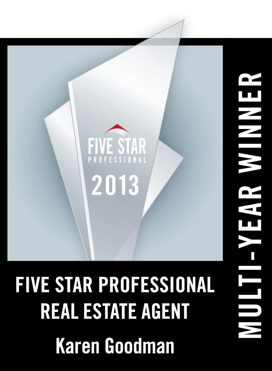 Karen Goodman Awarded 2013 St. Louis Real Estate FIVE STAR Award