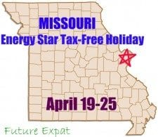 MO Energy Star tax holiday
