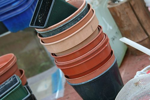 St. Louis Recycling Program: Plastic Garden Pots and Trays