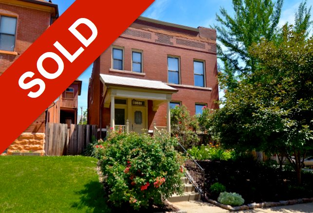 SOLD - 2831 Shenandoah Ave, St. Louis, MO - Fox Park