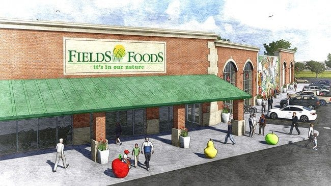 Fields Foods rendering copyright Fields Foods 650x365 New Grocery Store Coming to Lafayette Square