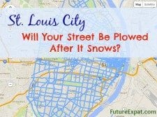 Which Streets Will St. Louis City Plow After It Snows? - Arch City Homes #stlouis