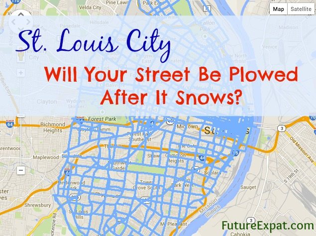 Which Streets Will St. Louis City Plow After It Snows?