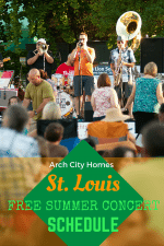 St. Louis Free Summer Concert Schedule