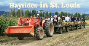 Hayrides in St. Louis - photo credit Darin Berry (flickr)