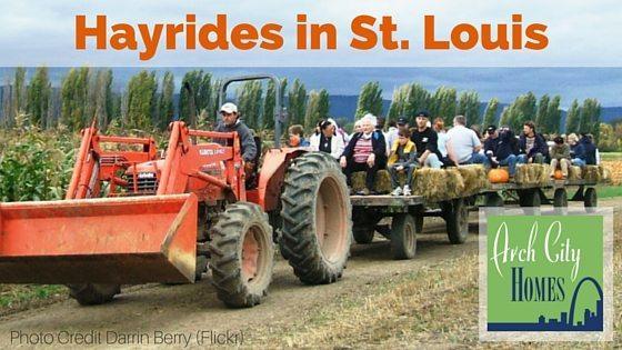 Fall Fun: Hayrides in St. Louis