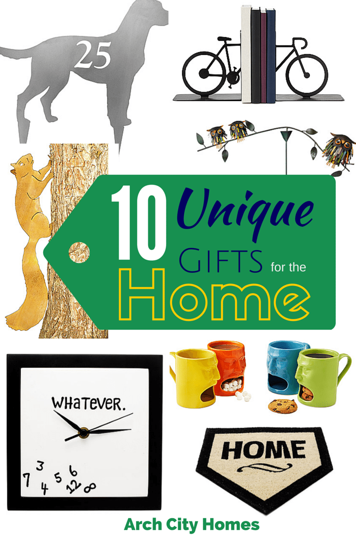 Homeowner tips arch city homes Gifts for home builders