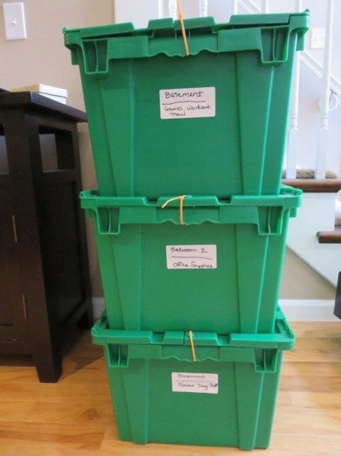 STL Rent A Box - labeled crates