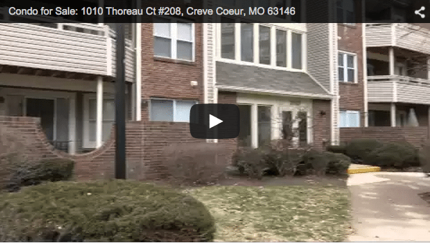 Video screenshot of Condo for Sale: 1010 Thoreau Ct, Creve Coeur, MO 63146