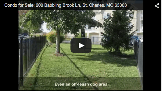 Condo for Sale: 200 Babbling Brook Ln, St. Charles MO 63303