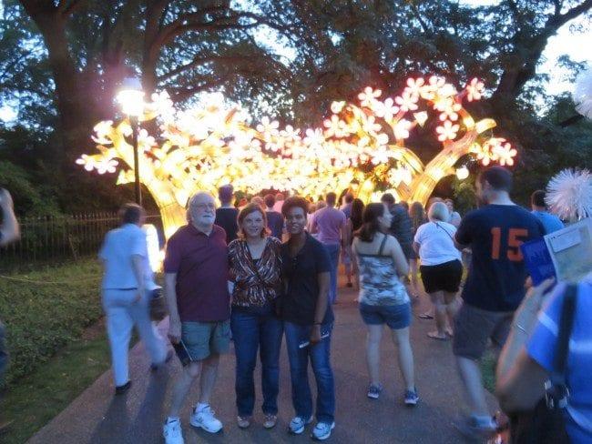 MO Botanical Gardens Lantern Festival | Arch City Homes