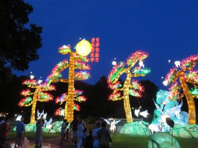 MO Botanical Gardens Lantern Festival | Arch City Homes
