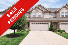 Townhouse Pending Sale: 143 Distinction Dr, Lake St. Louis MO 63367 | Arch City Homes