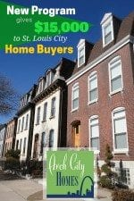 New Program Gives $15,000 to St. Louis City Home Buyers