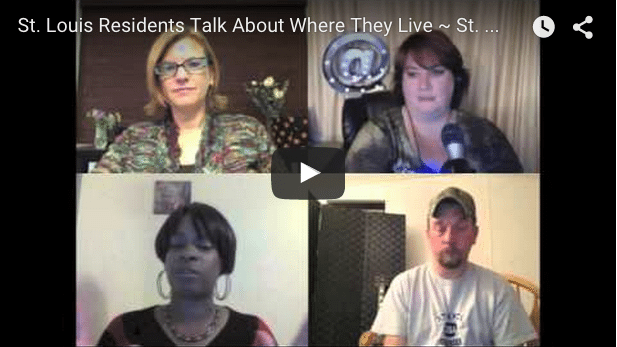 VIDEO SERIES: St. Louis Residents Talk About Where They Live ~ St. Charles City