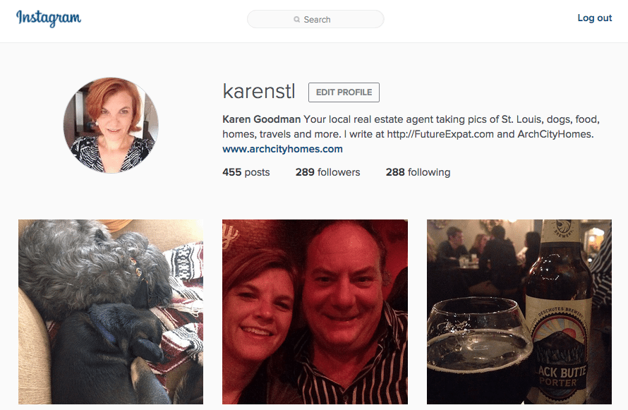 Let's Connect on Social Media - Karen Goodman (@karenstl) on Instagram