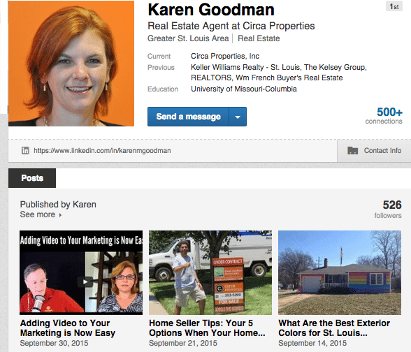 Let's Connect on Social Media - Karen Goodman on LinkedIn