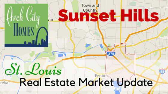 St. Louis Real Estate Market Update: Sunset Hills, MO | Arch City Homes