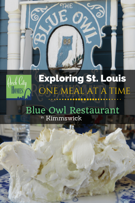 Exploring St. Louis One Meal at a Time: Bluew Owl Restaurant (Kimmswick) | Arch City Homes