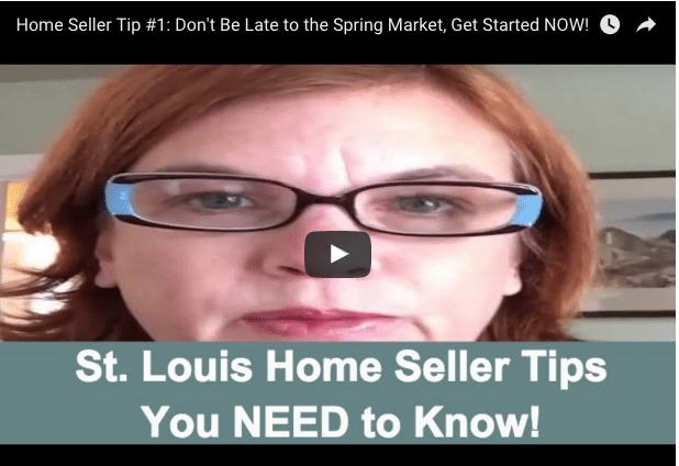 Home Seller Tip: Don't Be Late to the Spring Market, Get Started NOW (VIDEO)