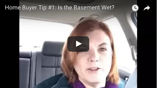 Home Buyer Tip: Is the Basement Wet? (VIDEO)