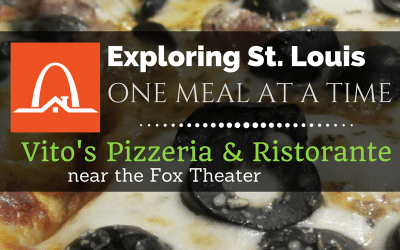 Exploring St. Louis One Meal at a Time: Vito's Sicilian Pizzeria & Ristorante