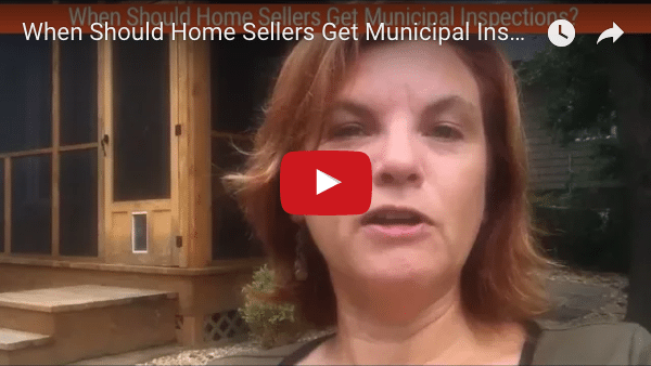 VIDEO: When Should Home Sellers Get Municipal Inspections?