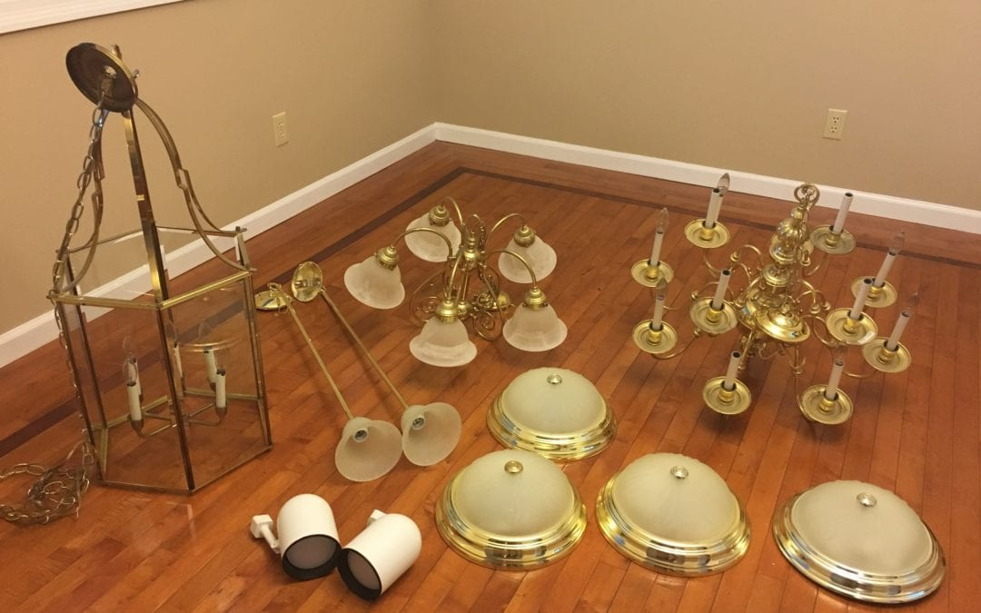 Cheaply Update a Home with New Light Fixtures