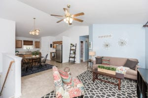 Staging - Before and After Pictures | Arch City Homes
