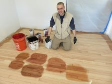 Flooring stain disposal | Arch City Homes